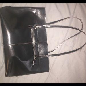 Kattee Genuine Leather Tote W/ Adjustable Handles